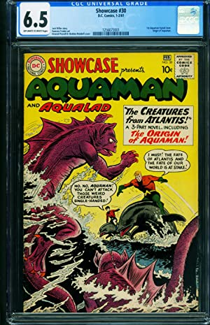 Showcase Comics #30 CGC 6.5 1961 1st Aquaman - Origin 1256073001
