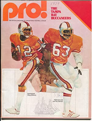 Tampa Bay Buccaneers NFL Football Game Program 1979-rare proof copy-Selmon-FN/VF
