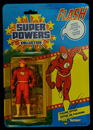 FLASH KENNER SUPER POWERS ACTION FIGURE 1984 CANADIAN MOC