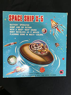 Space Ship X-5 Taichung 2001 NM