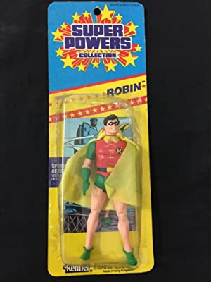 Super Powers Collection Robin Action Figure 1986 Kenner Canadian