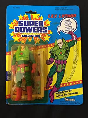 Super Powers Collection 1984 Lex Luthor Action Figure Kenner Canadian