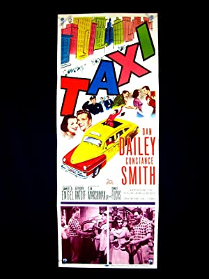 TAXI-1953-DAN DAILEY-COLORFUL IMAGE-INSERT VF