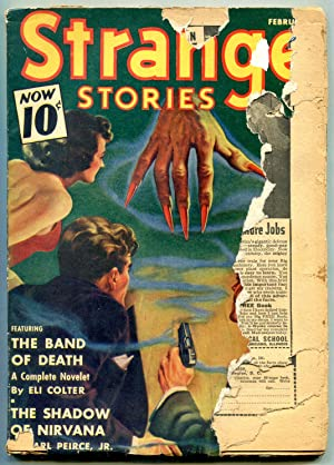 Strange Stories Pulp February 1941- Band of