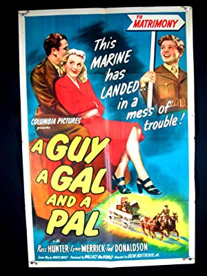 GUY, A GAL & A PAL-1945-POSTER-ROSS HUNTER-COMEDY-DRAMA G