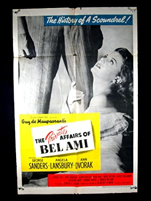 PRIVATE AFFAIRS OF BEL AMI-1947-POSTER-FRANCES DEE FR/G