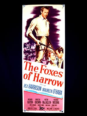 THE FOXES OF HARROW-MAUREEN O'HARA-1947-INSERT VG