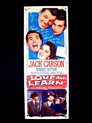 LOVE AND LEARN-JACK CARSON-1948-INSERT FN