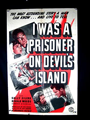 I WAS A PRISONER ON DEVILS ISLAND-POSTER-SALLY EILERS G