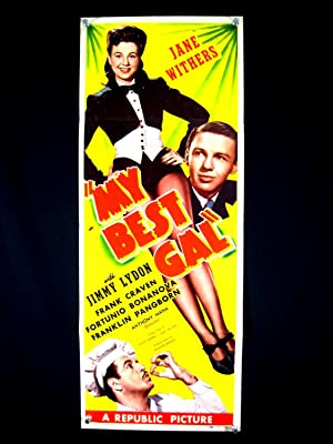 MY BEST GAL-JANE WITHERS-LEGGY IMAGE-1943-INSERT VF
