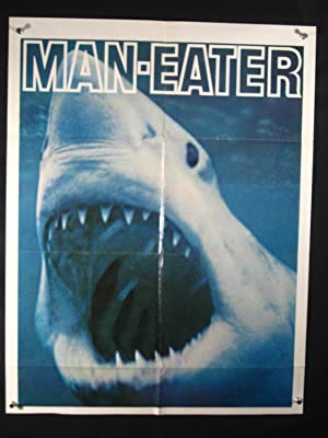 BLUE WATER WHITE DEATH-ADVANCE POSTER-GREAT WHITE SHARK FN