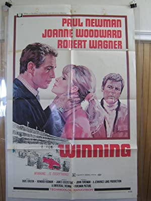 WINNING-PAUL NEWMAN-JOANNE WOODWARD-ROBT WAGNER-INDY G/VG