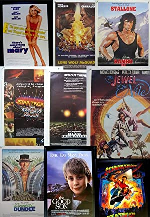 Lot of 151 1980's-2000's Original Movie Posters-RAMBO III-BLUE THUNDER-BABE-MORE