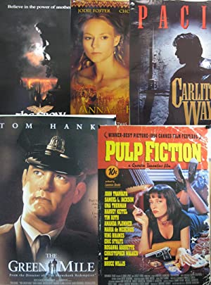 Lot of 70 1990's-2000's Original Movie Posters-Pulp Fiction-Karate Kid II-more
