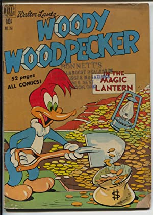 Woody Woodpecker Four Color Comics 264 1950 Dell Walter Lantz VG