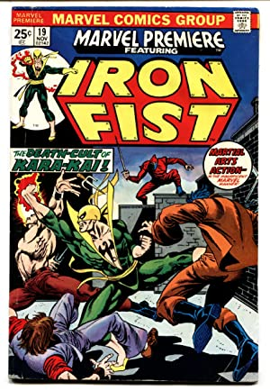 Marvel Premiere #19 comic book -FIRST