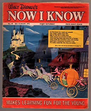 Walt Disney's Now I Know #47 1973-U.K-Cinderella-G