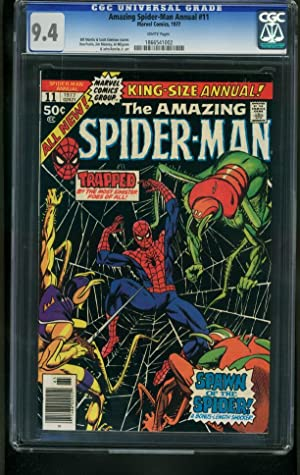 AMAZING SPIDER-MAN ANNUAL #11-1977-CGC 9.4---MARVEL 1866541002