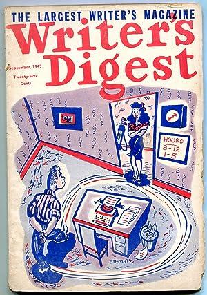 Writer's Digest September 1945- Jungle Stories- Pulp