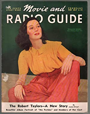 Movie-Radio Guide 7/6/1940-Rosalind Russell-Robert Taylor-Mickey Rooney-VG