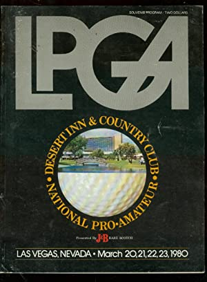 LPGA National Pro-Amateur Golf Program March 20-23 1980
