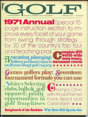 Golf Annual 2/1971-tournaments-instruction-Palmer-Fran Beard-Carol Mann-FN