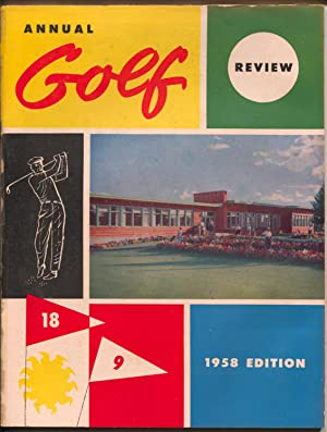 Annual Golf review 1958-Canadian golf-tournament results-pix-info-VG