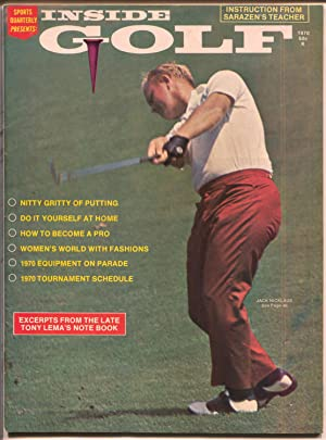 Inside Golf-Spring-1970-Jack Nicklaus-tourament schedules-PGA-VF