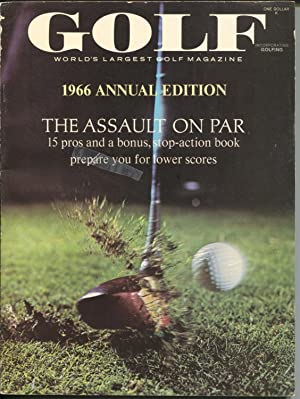 Golf Annual 2/1966-tournaments-instruction-Arnold Palmer-Tony Lema-FN
