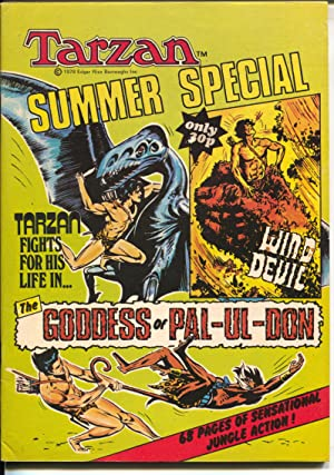 Tarzan Summer Special 1978--Russ Manning art-Goddess of Pal-Ul-Don-FN