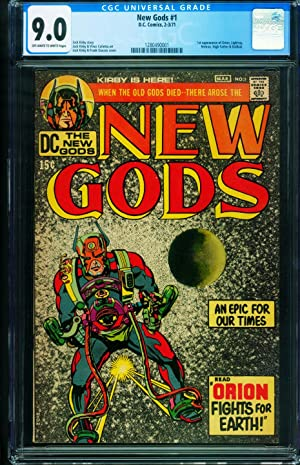 NEW GODS #1 CGC 9.0 First issue DARKSEID comic book 1280490001