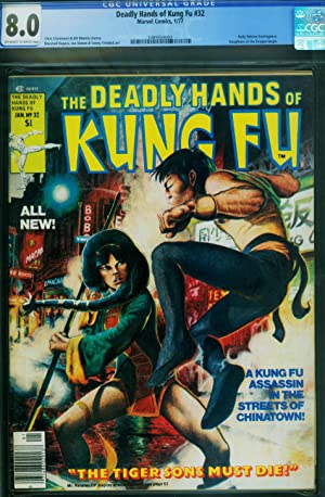 Deadly Hands of Kung Fu #32 1st Daughters of the Dragon-CGC 8.0 1989554003