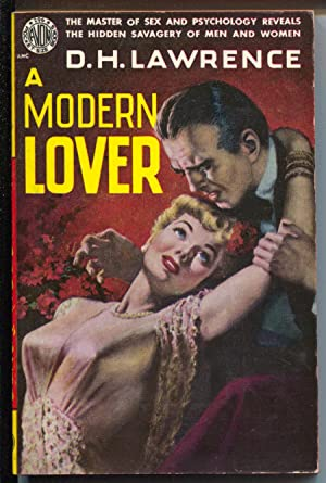 A Modern Lover #296 1950-DH Lawrence-GGA-spicy cover-VF