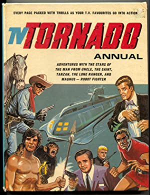 TV Tornado Annual UK hardback Man From UNCLE- Lone Ranger