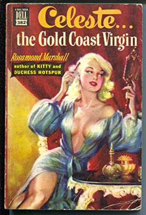 Celeste.The Gold Coast Virgin #382 1949-Dell Mapback-spicy cover-VG