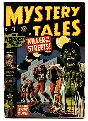 Mystery Tales #8 comic book 1953- Atlas Horror- Werewolf transformation