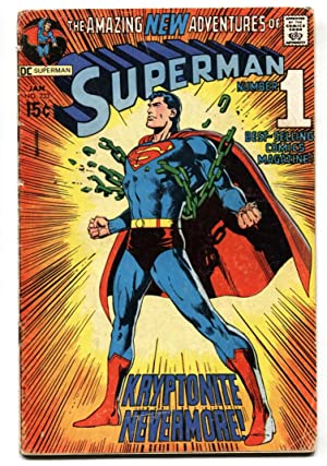 Superman #233 1971-DC-Neal Adams cover-Key issue-G