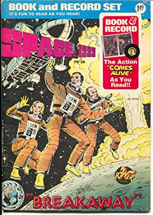 Space :1999 Book & Record Set PR-29 1976-TV series-comic book & record-VG+