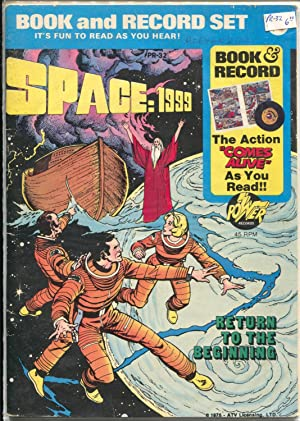 Space :1999 Book & Record Set PR-32 1976-TV series-comic book & record-VG+