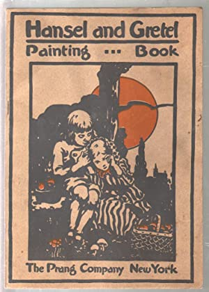 Hansel & Gretel Painting Book 1915-for use with water colors-100+ years old-G/VG