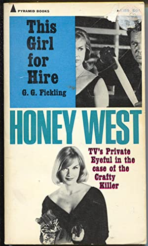 Honey West #r-1360- 1965-Pyramid-Anne Francis photo cover-TV-VG-