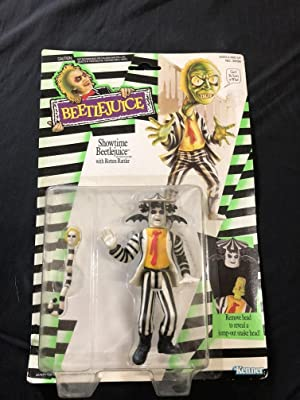 Showtime Beetlejuice Action Figure on card Kenner 1989