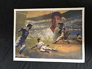 Joe DiMaggio Hitter Hero & The American Dream 18x24