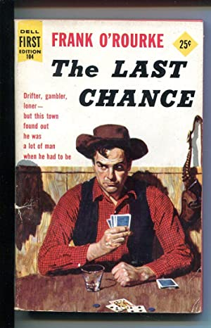 THE LAST CHANCE #104 1956-DELL-1ST EDITION SERIES-POKER-CARD GAME-O'ROURKE-vg