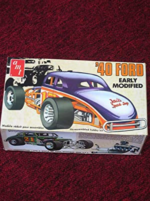 40 FORD MODIFIED DIRT TRACK CAR MODEL---AMT