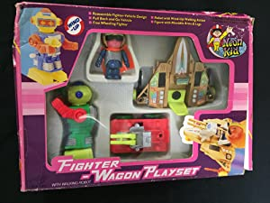 Fighter Wagon Playset Dragon Toys VG