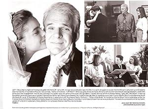 FATHER OF THE BRIDE-1991-MARTIN/KEATON/WILLIAMS-8X10 VG