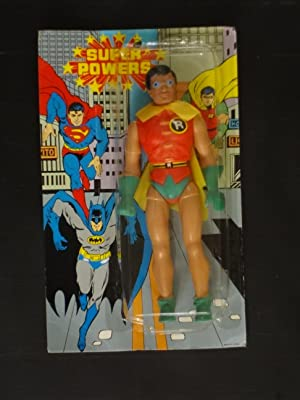 SUPER POWERS ROBIN MADE IN CHINA-MINT-RARE!