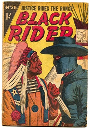 Black Rider #26- British comic- Ringo Kid VG