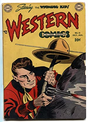 Western Comics #10 1949- Wyoming Kid- Nighthawk VG-